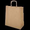 Торбичка крафт с дръжка