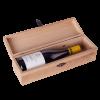 Кутия за 1 бутилка със закопчалка, дъб