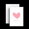 Картичка Обичам те