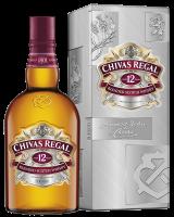 Уиски Чивас Регал 12 г в кутия, 0.7 л