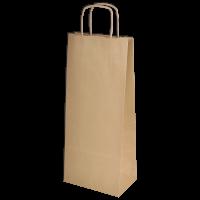 Торбичка Крафт двойна с дръжка, 1 бр.