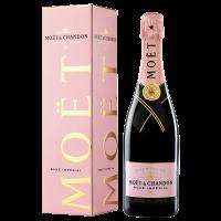 Шампанско Моет Розе Империал в кутия, 0.75 л