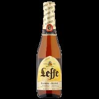 Бира Лефе блонд 6.6% бутилка, 0.33 л