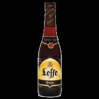 Бира Лефе тъмно 6.5% бутилка, 0.33 л
