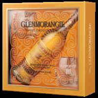 Уиски Гленморанджи Ориджинъл 10 г. + 2 чаши, 0.7 л