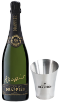 Шампанско Драпие Сигничър Блан де Блан Брут NV, 0.75 л