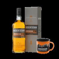 Уиски Охинтошън Американ ОАК + метална чаша, 0.7 л
