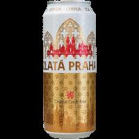 Бира Златна Прага 4.1% КЕН, 0.5 л