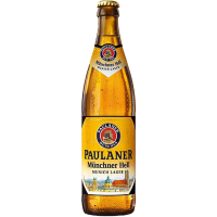 Бира Пауланер Мюнхенер лагер 4.9%, 0.5 л