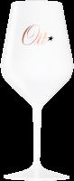 Чаша за вино Домейн Отт бяла пластик, 1 бр.