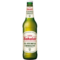 Бира Бакалар dry-hopped 5.2%, 0.5 л