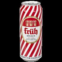 Бира Фрюх Кьолш 4.8% кен, 0.5 л