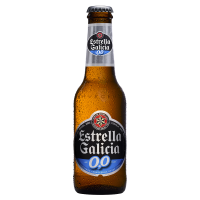Бира Естрея Галисия безалкохолна 0.0%, 0.33 л