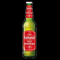 Бира Бакалар Десетка4.0% бутилка, 0.5 л