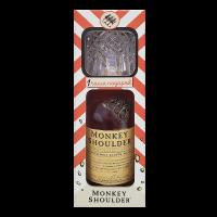Уиски Мънки Шоулдър + чаша, 0.7 л