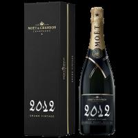 Шампанско Моет Гранд Винтидж 2012 в кутия, 0.75 л