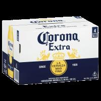 24 Бири Корона екстра 4.5% мексиканскa бутилка, 4х6 х 0.355 л