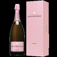 Шампанско Луи Рьодерер Брут Розе Винтидж Магнум 2010 в кутия, 1.5 л