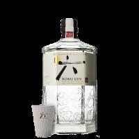 Джин Року японски 43% + 1 чаша, 0.7 л
