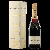 Шампанско Моет Брут Империал NV в кутия, 0.75 л