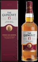 Уиски Гленливет 15 г. в картонена кутия, 0.7 л