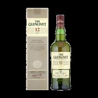 Уиски Гленливет 12 г. в картонена кутия, 0.7 л