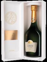 Шампанско Тетанже Конт де Шампан Блан де Блан Брут 2007 в кутия, 0.75 л