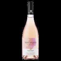 Хараламбиеви Троа Визаж Розе де Ноар 2020, 0.75 л