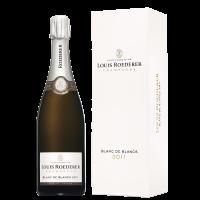 Шампанско Луи Рьодерер Блан де Блан Брут Винтидж кутия 2011, 0.75 л